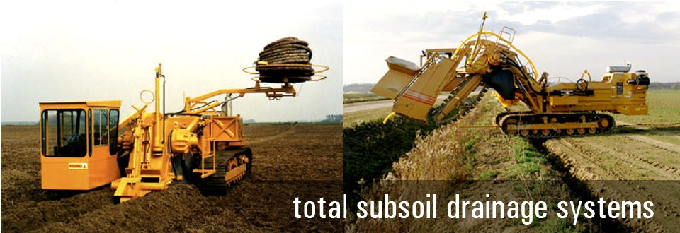 Subsoil Drainage System : Norton distribution is western